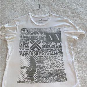 Men's Armani Exchange T-Shirt - Large
